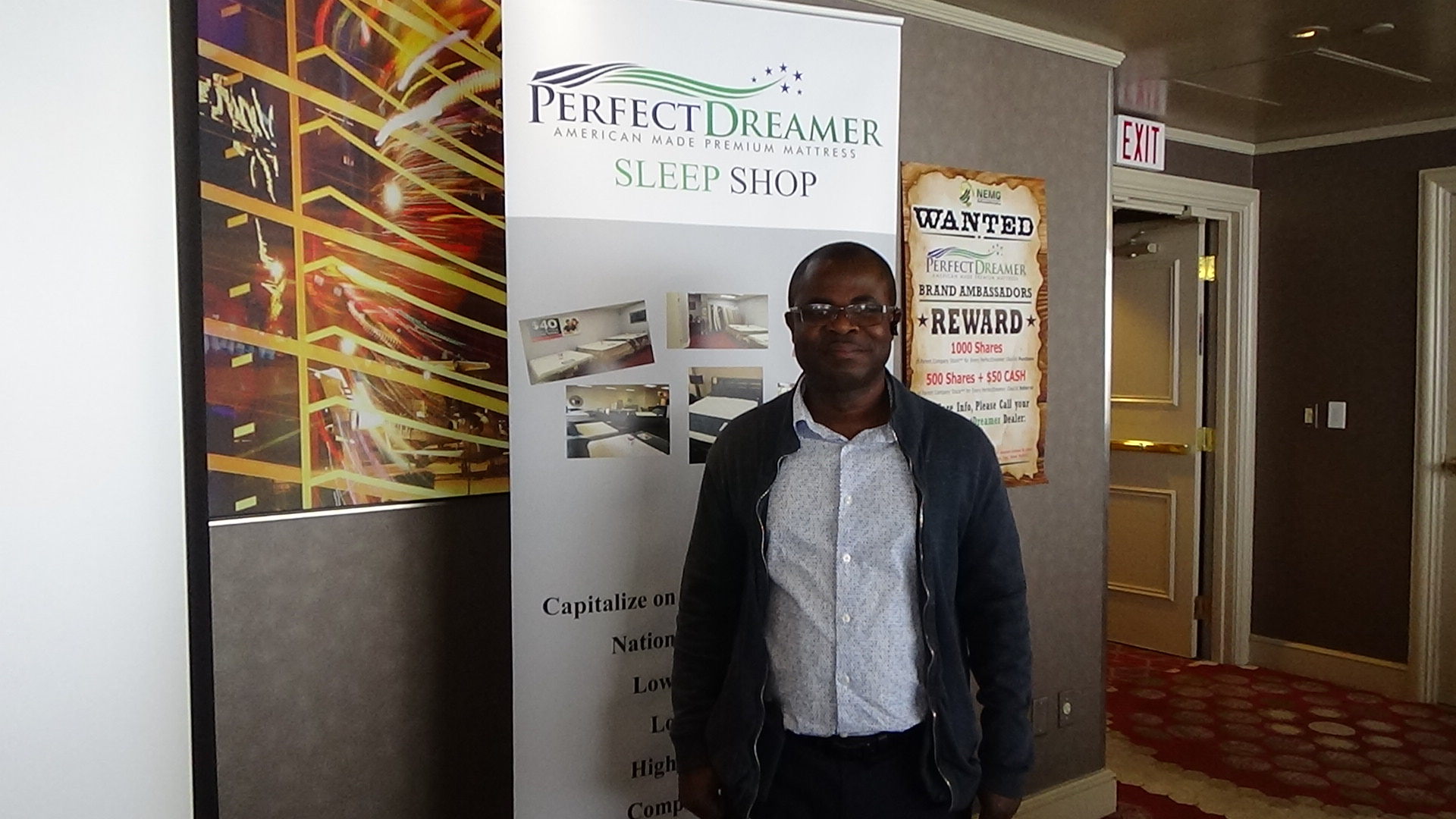 iDeal Furniture & SleepShop Owner, Stephen Osei-Wusu